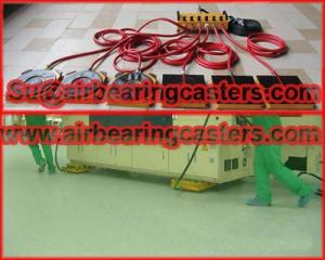 Wholesale machinery mover: Cleanroom Machinery Mover Air Casters Details