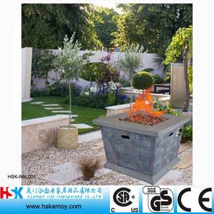 Wholesale Fireplace Sets & Accessories: Square Garden Fire Table, Outdoor Fire Bowl, Coutyard Fireplace, Antique Fireplace