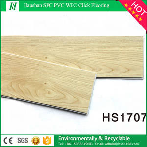 Wholesale wood floors: PVC Material and Simple Color Surface Treatment PVC Wood Flooring