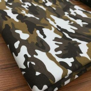Wholesale custom printed cotton bags: Camouflage Clothing Fabric