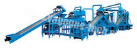 Waste Tire Recycling Large-scale Complete Production Line