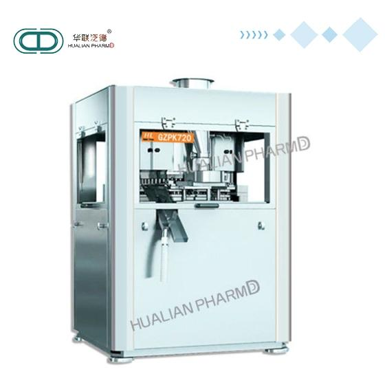 Full Automatic Tablet Press Machine 100 KN Electronic Industries Support