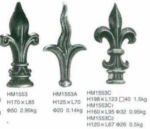Wholesale wrought iron: Forged Spearheads,Wrought Iron,Cast Iron,Decorative Iron