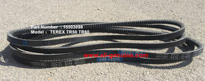 Wholesale house ware: 15503098 V Belt Terex TR35 TR50 TR60 TR100 Rigid Dump Truck