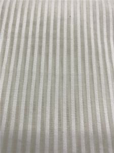 Wholesale striped dresses: Pure Silk Cotton Stripe Garment and Home Textile Fabric 10%silk 90%cotton Dyed Silk