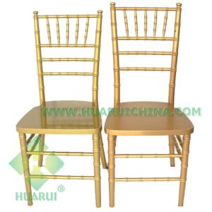 Wholesale Commercial Furniture: Factory Wholesale Hot Sale Tiffany Chiavari Wood Wedding Chair