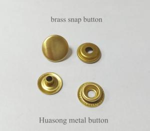Wholesale Buttons: Metal Snap Button