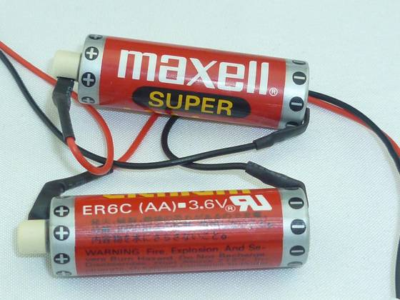 Sell MAXELL ER6C 3.6V 1800MAH AA Lithium Battery