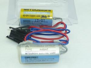 Wholesale sealed rechargeable battery: MITSUBISHI ER17330V/3.6V A6BAT PLC Lithium 3.6V Battery
