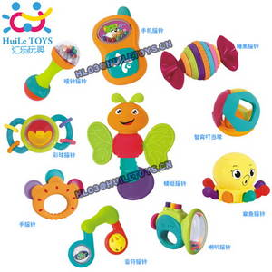Wholesale intellectual toys: HUILE Baby Rattle Infant Rattle Teether