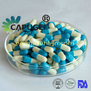 Wholesale vegetable empty capsules: Empty Vegetable Capsule with Halal Certification Size 00#,0#,1#,2#,3#,4#