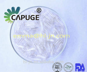 Wholesale opaque polymer: Medical Packing Pullulan Vegetables Empty Capsules Clear