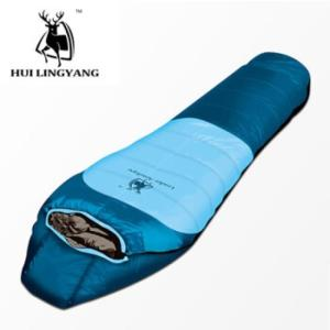 Wholesale Camping: White Duck Down Mummy Sleeping Bag H13