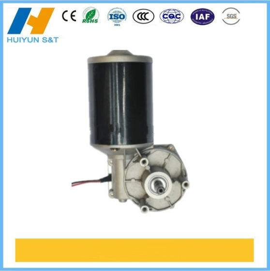 Sell High Torque 12v 80w dc worm gear motor permanent magnet electric brushed mo