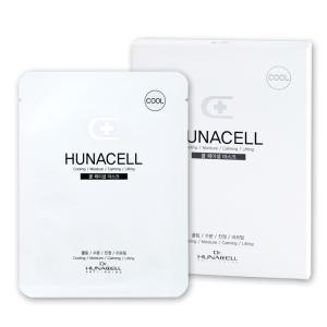 Wholesale hair ampoule: [Dr.Hunacell] Cool Facial Mask 25g*5p/Box