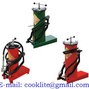 Wholesale lubrication pump: Foot Operated Grease Pump Pedal Lubrication Bucket