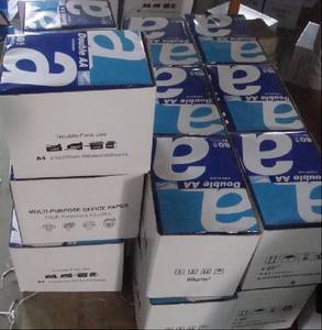 Wholesale Copy Paper: Double A A4 Copier Paper( 80gsm, 75gsm, 70gsm)