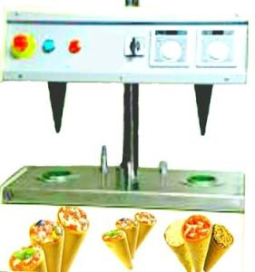 Wholesale cycle: Mini Pizza Cone Former Machine 2 Cones/Cycle