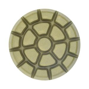 Wholesale floor pads: 3 Inch Concrete Floor Polishing Pads Resin Bond Diamond Polishing Pad