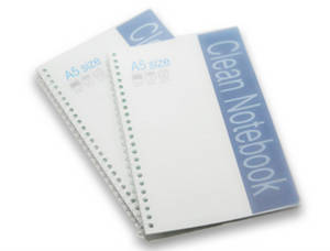 Wholesale office stationery: 100% Virgin Wood Pulp Office Supply Cleanroom Stationery A5 A4 A6 Staple Spiral Notebook