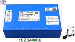 Wholesale electric bicycle: 18650 Li Ion Battery Pack 60V 18.2Ah for Electric Harley Bicycle