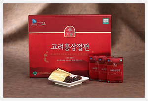 Wholesale korean red ginseng slice: Korean Red Ginseng Sliced (20g X10ea)