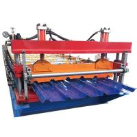 HY Trapezoid Tile IBR Roofing Sheet Roll Forming Machine