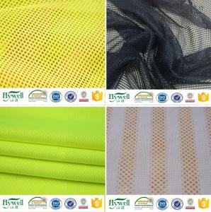 Wholesale tricot textile: Dry Fit 100% Polyester Eyelet Mesh Fabric Bird Eye Mesh