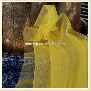 Wholesale curtains fabric: Mosquito Net Fabric Curtain 100% Polyester Factory