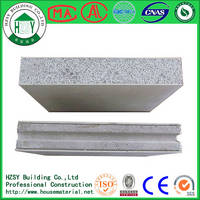 Lightweight Fireproof Waterproof Soundproof Eps Cement Sandwich Panel Manufacturer in Wuhan