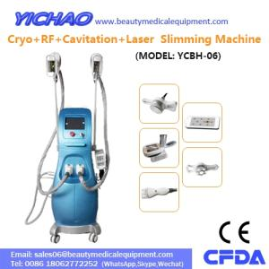 Wholesale freezing machine: RF Laser Vacuum Cavitation Cryolipolysis Fat Freezing Body Beauty Slimming Machine(YCBH-06)
