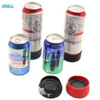 Silicone Band Fixation Plastic Ice Chill Puck Cooler Mini Cold Packs for Beer Can Cooling