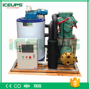 Wholesale sea water desalination system: On Boat Flake Ice Making Machine (2000kg Per Day )