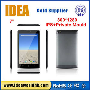 Wholesale tablets with camera: 7 Inch Tablet with Two Cameras and Flash Light Wolesale China