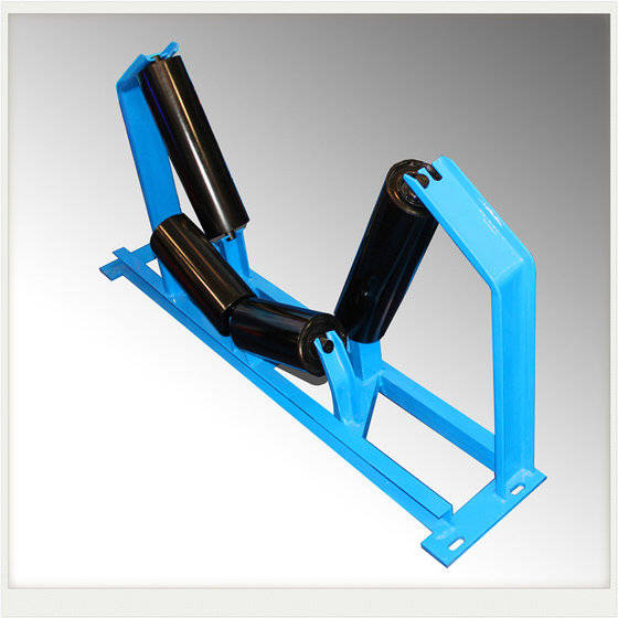 Sell Conveyor Roller Carrying Roller Idler with Good Bearing and shaft