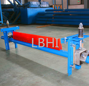 Wholesale pulley series exporter china: H-type Belt Cleaner/Secondary Cleaner Conveyor Belt Cleaner with Competitive Price