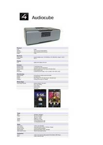 Wholesale ce certificate: Audiocube Docking Speaker for IDevice