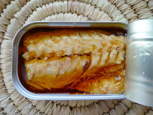 Wholesale seafood: Canned Indonesian Mackerel