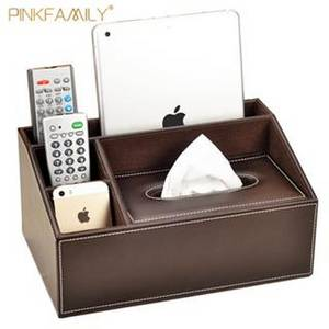 Wholesale Tissue Boxes: China Factory High Quality Custom Printed Leather Tissue Box