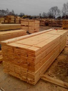 Wholesale wood timber: Pine Solid Wood Board, Rough Sawn Timber