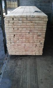 Wholesale contents: Wood for Construction - Solid Pine Timber with Air Dry Humidity Content