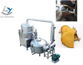 Wholesale automatic fryer: Electric Vacuum Frying Equipment De-Oil Speed 300R/ Min Keep Original Colour
