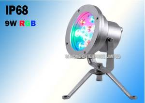 Wholesale led fountain lights: 9W Cleaning LED Waterfall Lights , Underwater LED Fountain Lights