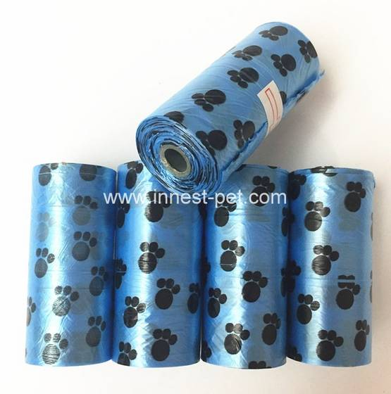 Sell pet dog product dog waste poop bags on roll