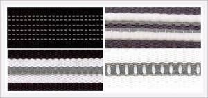 Wholesale Fiberglass Yarn: Webbing Tape Weaved by Reflective Yarn