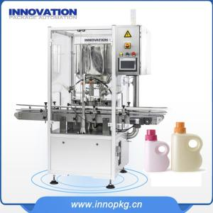 Wholesale servo: Automatic Servo Type Liquid Detergent Fiiling Machine with PLC Control