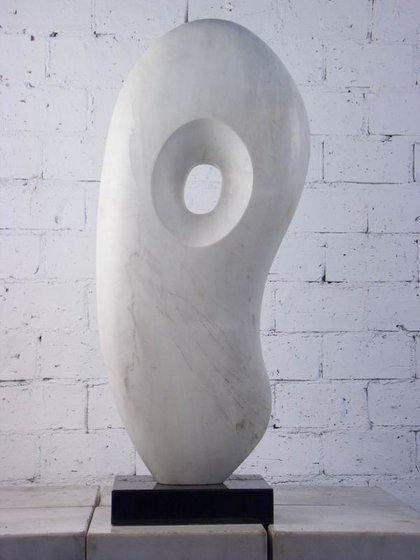 Modern stone carving sculpture statue id