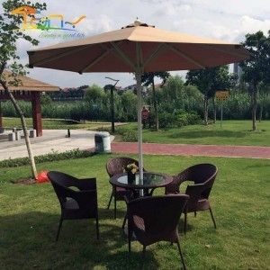 Sell 3M outdoor round shape large umbrella with marble base