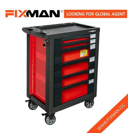 Sell FIXMAN 6-Drawer Mobile Tool Box Roller Cabinet On Wheels