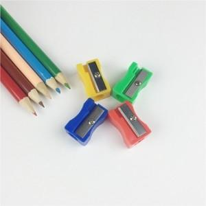 Wholesale sharpener: Plastic Octagonal Pencil Sharpener, Assorted Colors